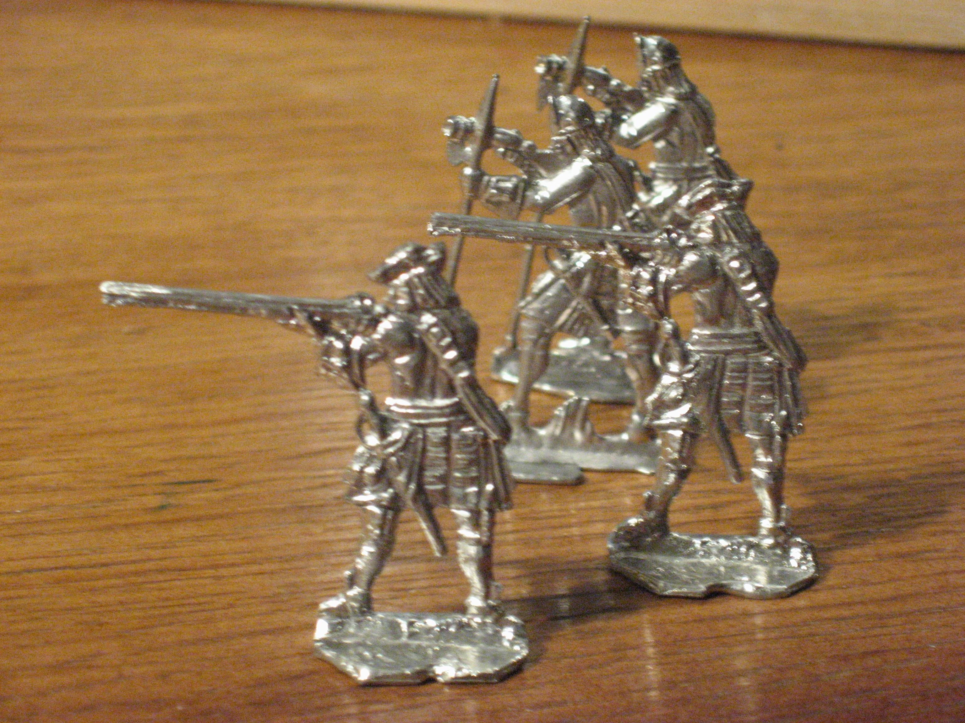 Оловянные солдатики своими руками классический размер 42