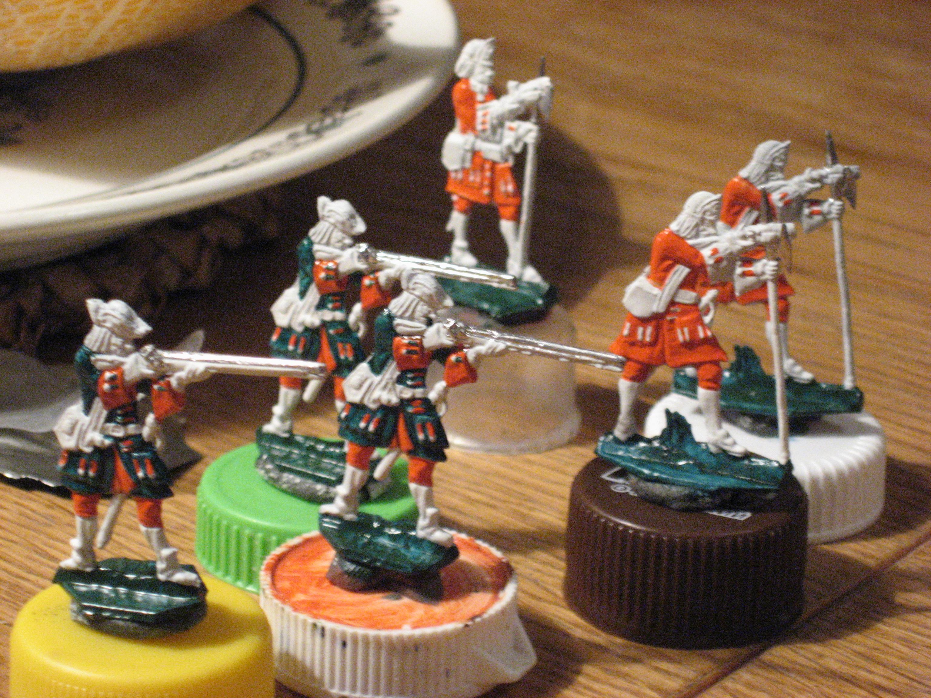 Оловянные солдатики своими руками классический размер 35